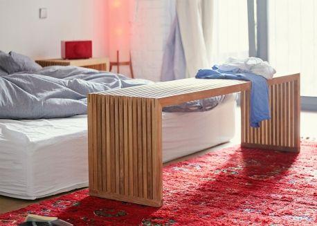 Banc De Qualite En Teck Certifie Fsc Chez Ksl Living Banc Design Mobilier Design Banc Bois