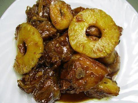 Paano magluto Pork Humba Recipe - Filipino cooking - Tagalog & English - YouTube