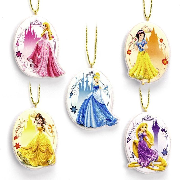 14 best Disney Princess Christmas Ornaments images on Pinterest ...