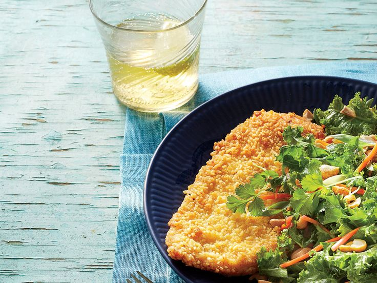Learn how to make Crispy Ramen-Crusted Chicken with Asian Salad. MyRecipes has 70,000  tested recipes and videos to help you be a better...