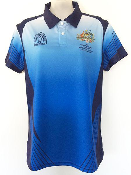 e3b7c53c6 Printed (sublimated) polo shirt for Australian Bowhunters - Custom Made  Uniforms