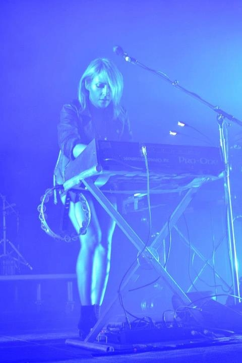 Emily Haines and Metric Rock Kingston