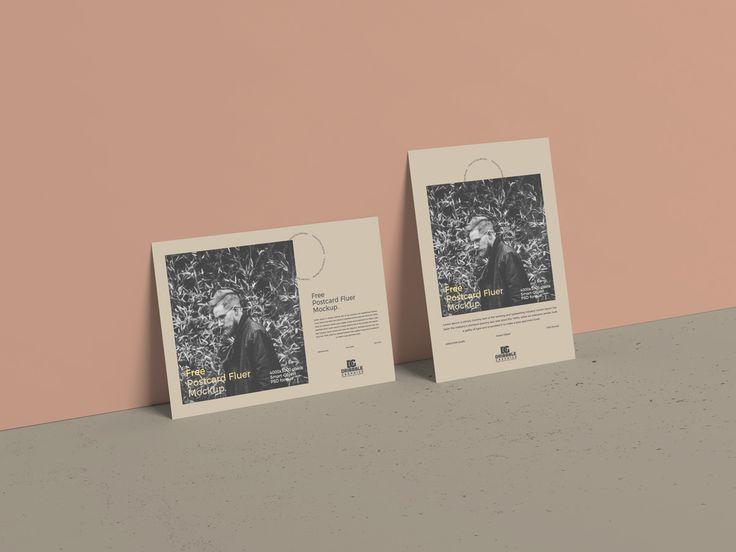 """Vedi questo progetto @Behance: """"Free Postcard Flyer Mockup"""" www.behance.net/..."""