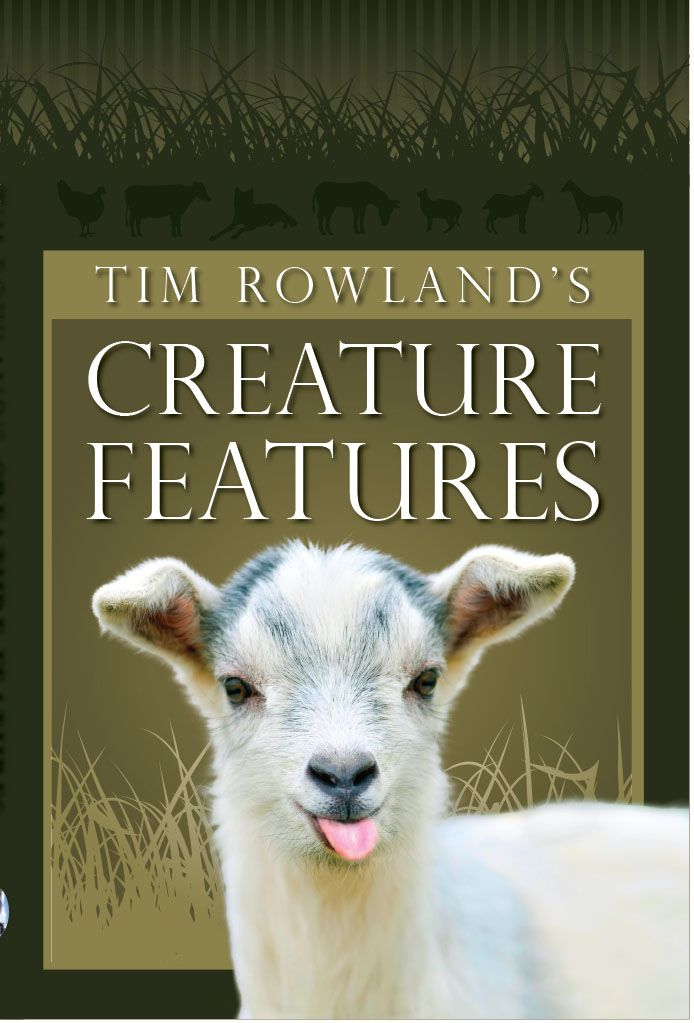 Tim Rowland's Creature Features- Essays, humor, animals.  Tour Full.