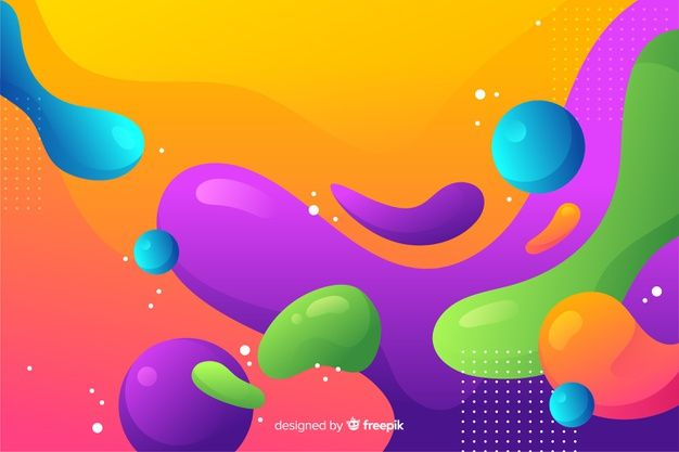 Download Abstract Colorful Flow Shapes Background Design For Free