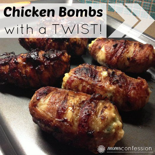 Chicken bombs on the grill are a great summertime meal to share with friends and family. These chicken bombs have been twisted with a little Texas flair!