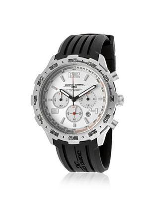 68% OFF Jorg Gray Men's JG1600-11 Black/Silver Rubber Watch