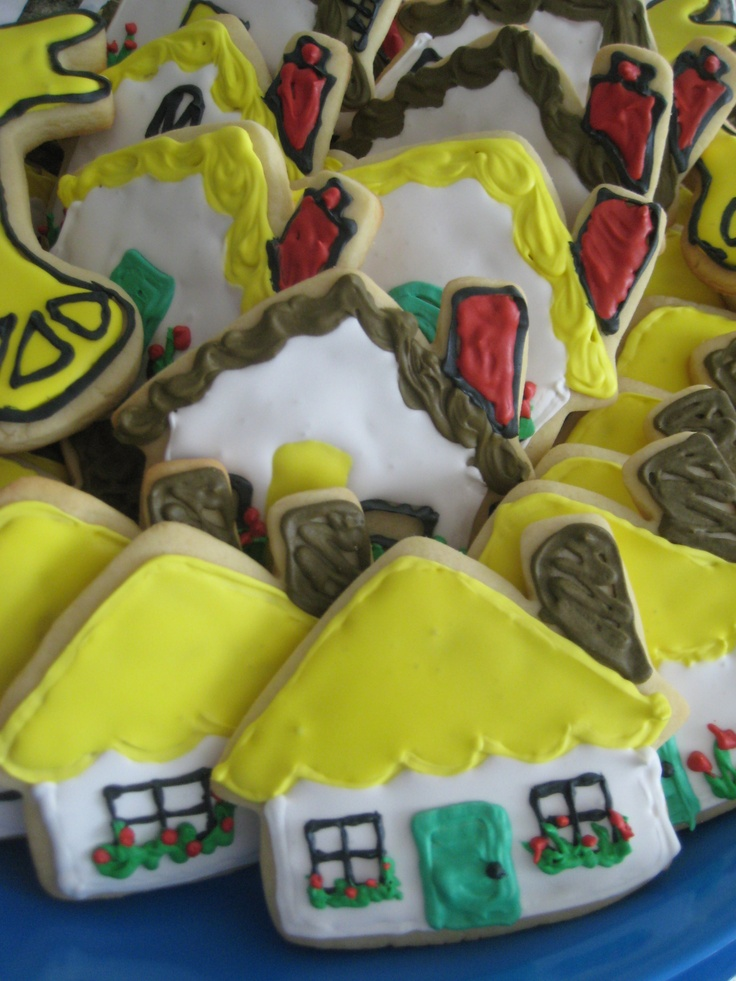 House Warming Party cookies
