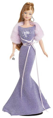 AmazonSmile: Barbie Collector Zodiac Dolls - Aquarius (January 21 - February 19): Toys & Games