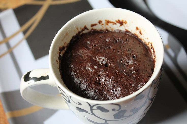Microwave Mocha Mug Cake Recipe / Microwave Coffee Cake Recipe
