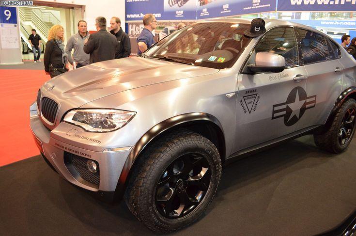 Manhart Mhx6 Dirt Bmw X6 Tuning Essen Motor Show 2012