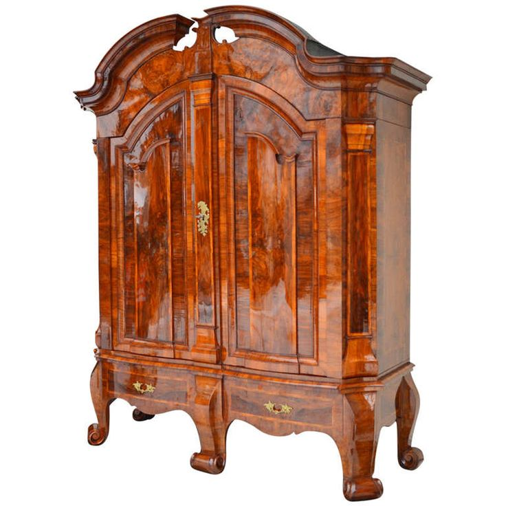 Baroque Style Hallway Cabinet from Northern Germany, circa 1730 | From a unique collection of antique and modern cabinets at https://www.1stdibs.com/furniture/storage-case-pieces/cabinets/