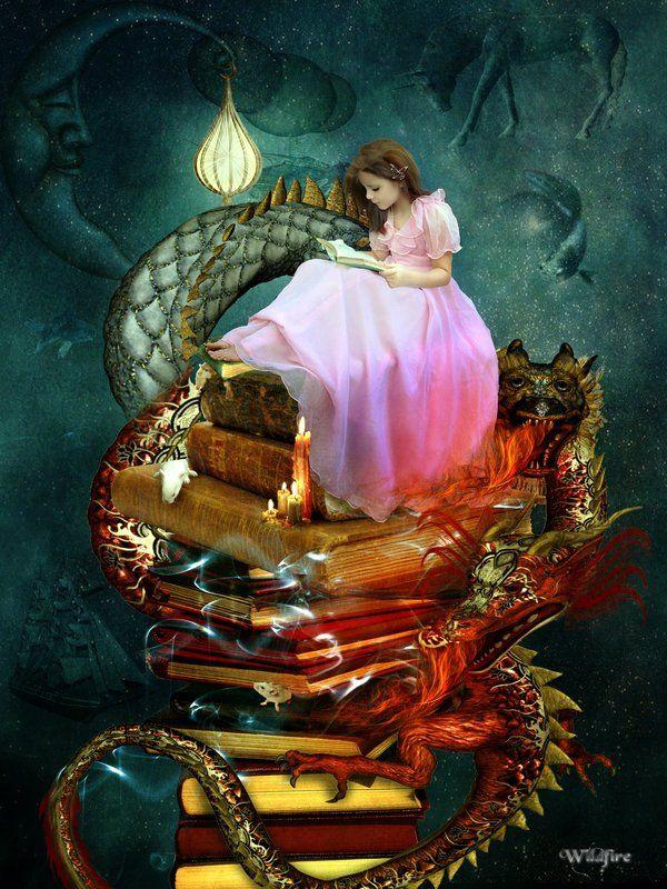Resultado de imagen de fantasy reading