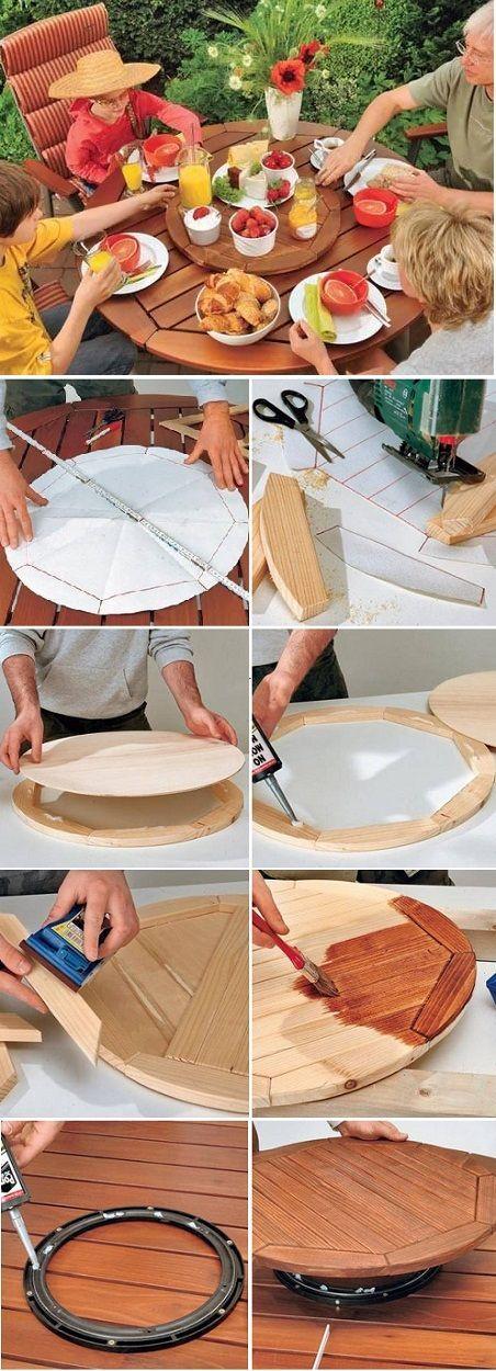 Como una hacer una mesa giratoria