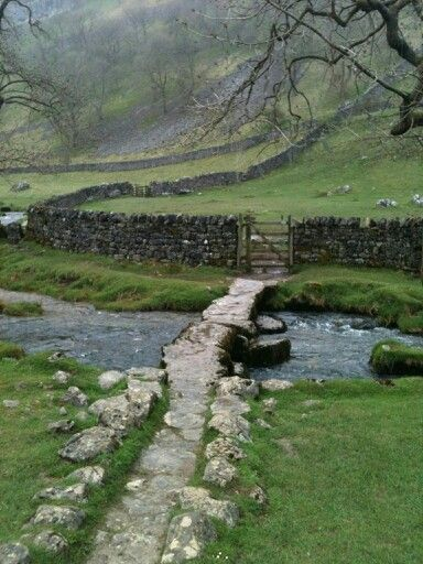 Malham Dale, Yorkshire Dales. My last name, Dale,  comes from our ancestors immigrating from this very place. I swear there are times that I almost miss it despite never having lived there. Must have seeped into our bones and wound itself through our DNA.