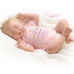 Baby Mine Personalized Lifelike Baby Doll - Realistic Baby Dolls