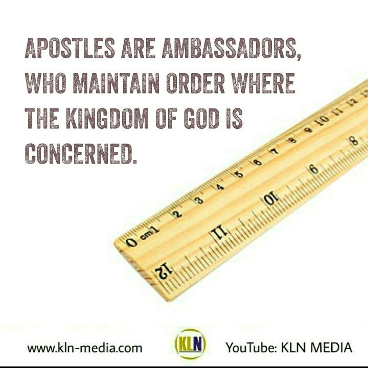 Kingdom Living Now  God our King reigns and rules.  The government of the kingdom of God,  is governed by the commands of the King,  where the people are His subjects,  who ought to be surrendered to the perfect will of the Father. Apostles are sent by God, to maintain order in the Kingdom of God.  Mark 3:13-15 AMP He went up on the hillside and called those whom He Himself wanted and chose; and they came to Him. 14 And He appointed twelve [disciples], so that they would be with Him [for…
