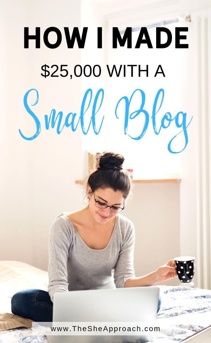 Wie ich mein erstes $ 25.000 Blogging gemacht habe – Olga Aleksandrovna