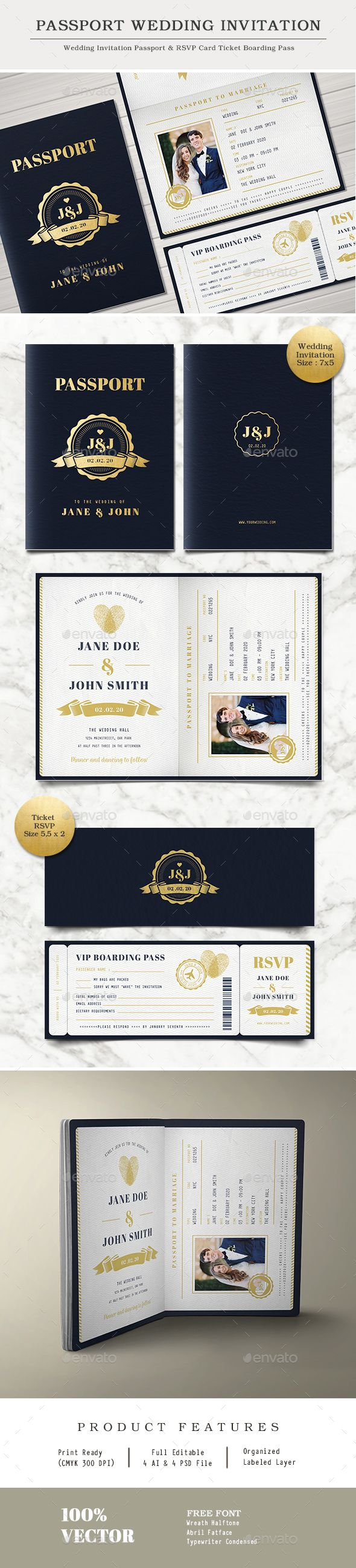 25 best ideas about passport wedding invitations on pinterest passport invitations. Black Bedroom Furniture Sets. Home Design Ideas