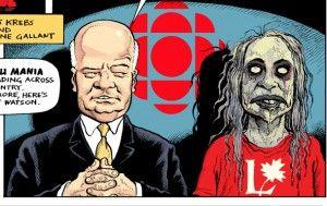 ZOMBIE TRUDEAU #3: Trudeau Mania Spreads