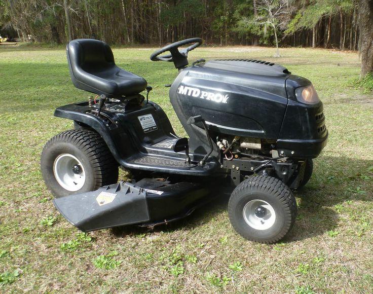 Mtd Pro 46 In. Riding Mower 20 Hp. V Twin Briggs & Stratton Yard Tractor #MtdPro