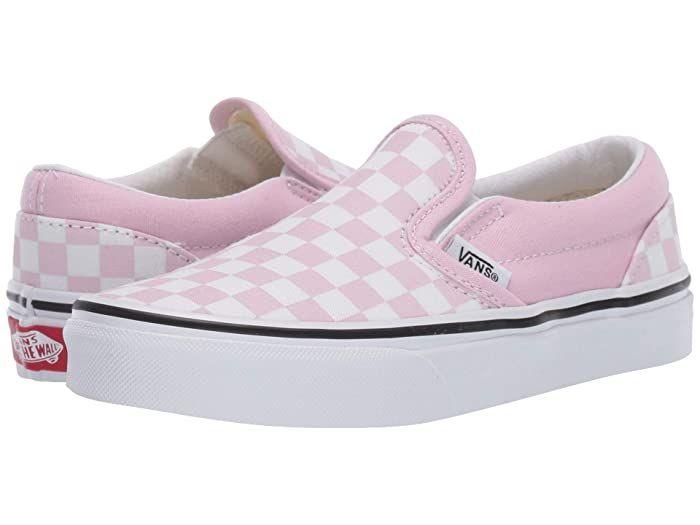 big girls slip on shoes