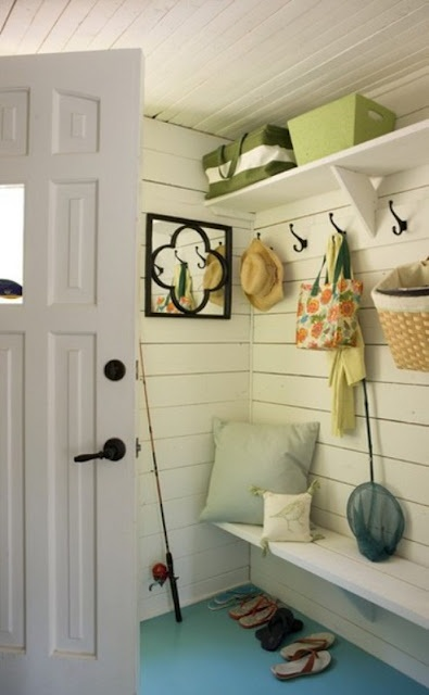 another great beach house entry way