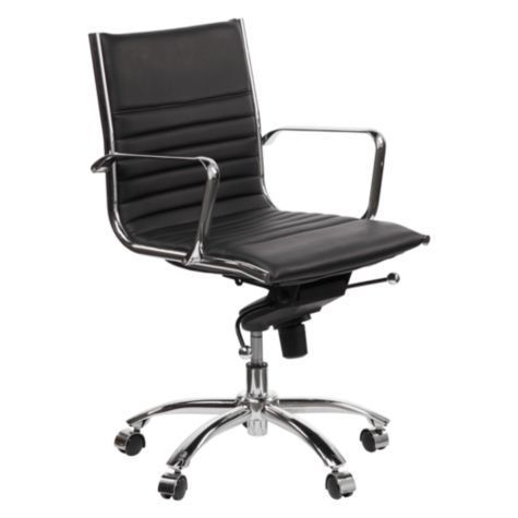 Malcolm Office Chair Black From Z Gallerie Black Office Chair