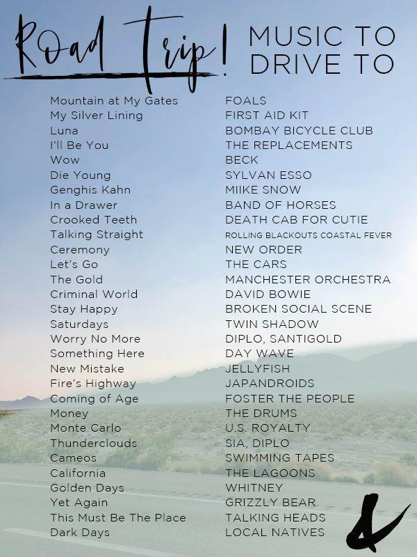 Beste Road Trip Songs für Ihre nächste Reise #b…