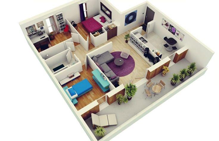 3D Raumplaner die kreative Wohnungsgestaltung