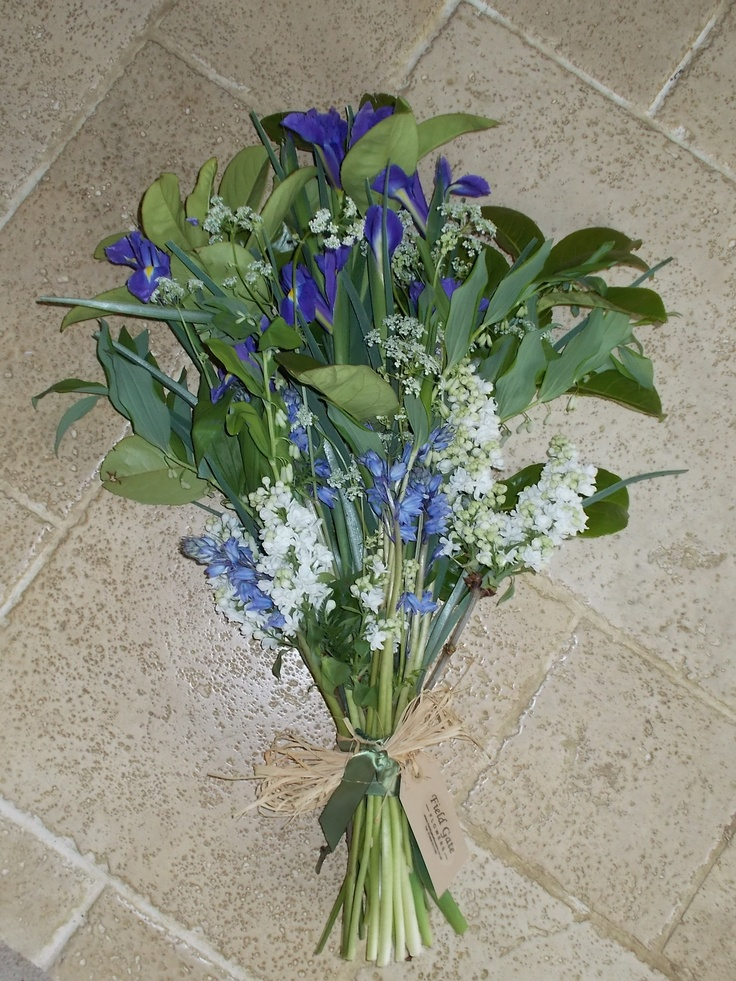 Another hand tied bouquet from Field Gate Flowers