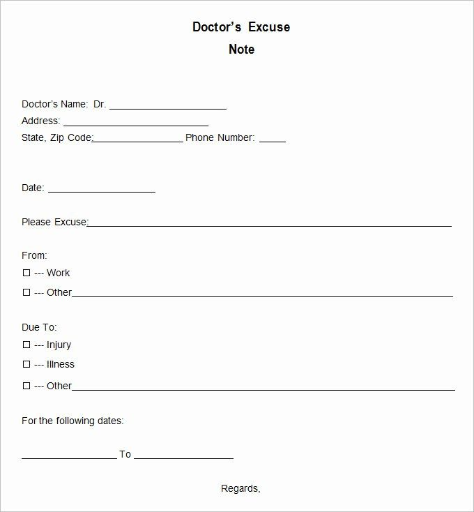 21 Free Doctor Note Excuse Templates Template Lab Doctors Note Template Doctors Note Dr Note For Work