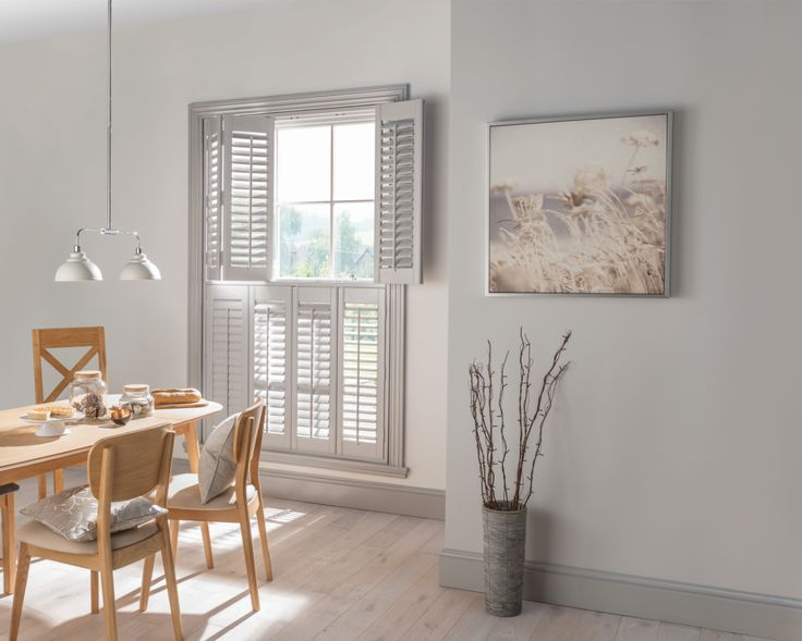 The most stylish way to control the light in your home...our Made to Measure shutters!