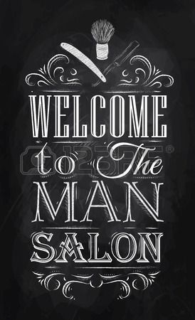 Barbershop Design Ideas modern barber shop designs hair salon ideas designs spa salon design ideas salon decoration ideas best hair salon interior design retro salon furniture Poster Barbershop Welcome To The Man Salon In A Retro Style And Stylized For The Drawing
