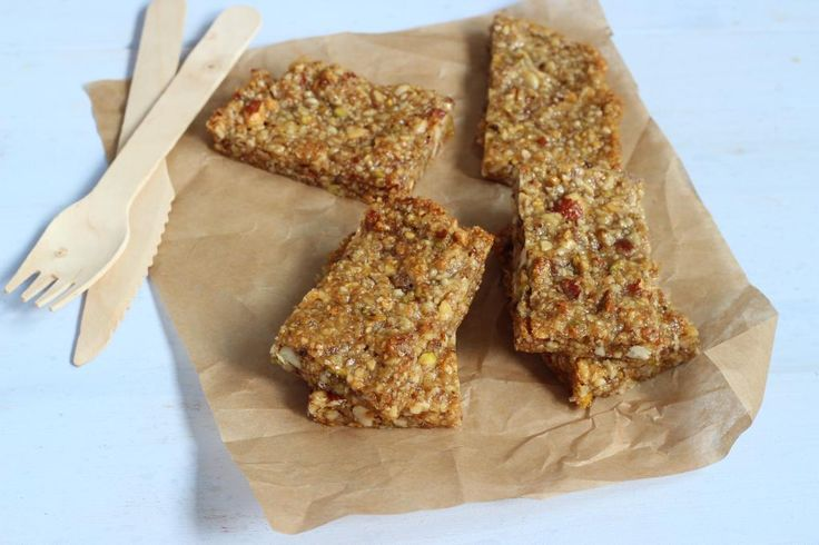 Gezonde snack – zelfgemaakte notenrepen - Lekker en simpel