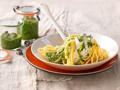 Bärlauch-Pesto - perfekt für den Frühling