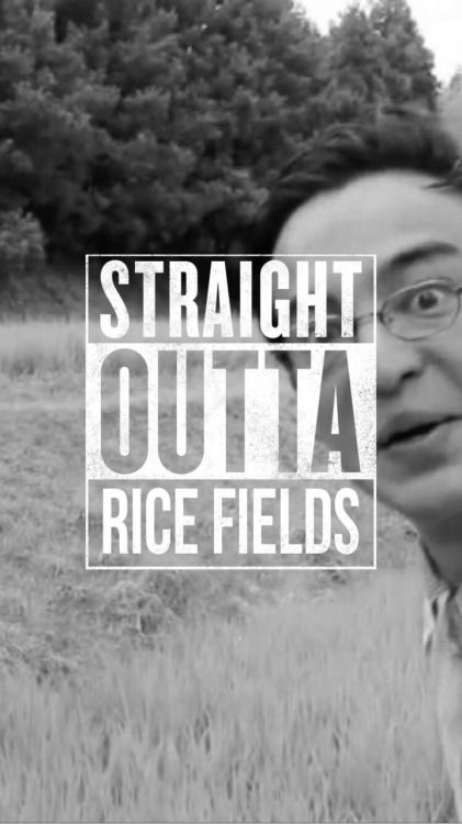 I Want To Visit A Rice Field Because Of This Man
