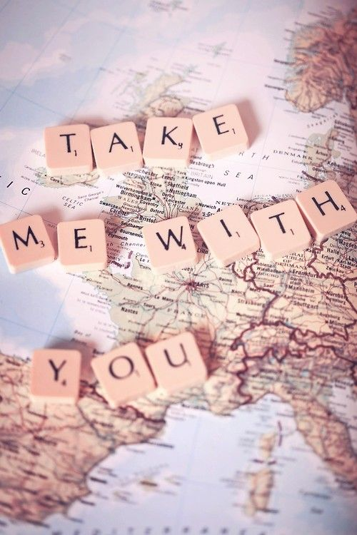 Take me along…..even when I know am not the dream you chase ...