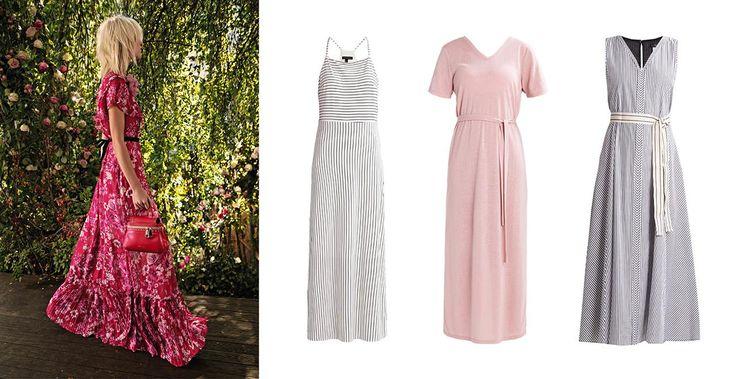 Deze maxi-jurken draag je zowel op het strand als op kantoor!