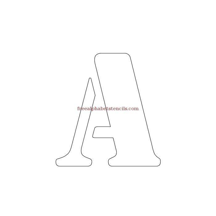 Read Article: Decorative Army Alphabet Stencils