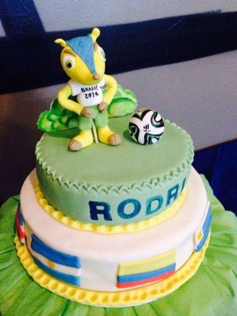 Mundial 2014 Fuleco Cake