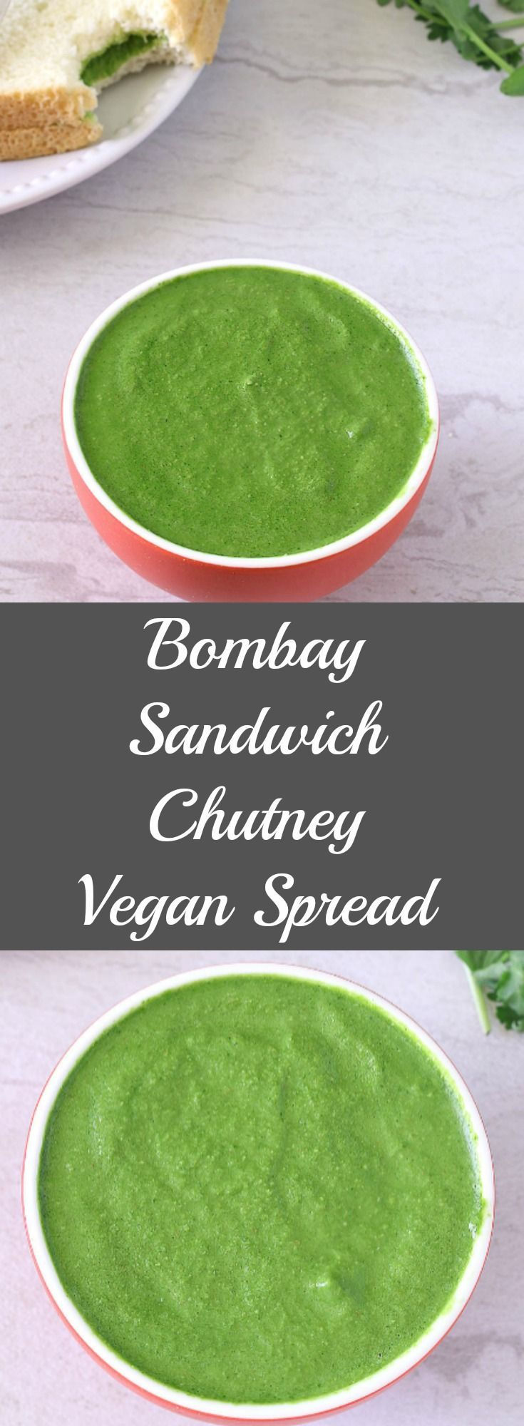 Bombay Sandwich Chutney is green chutney recipe for sandwiches. Green Chutney is one of the healthiest addition and is used often in Indian cuisine as a dip with fried snacks, for chaats and also to make Sandwiches. This chutney aids in good digestions and enhance the taste of any dish.