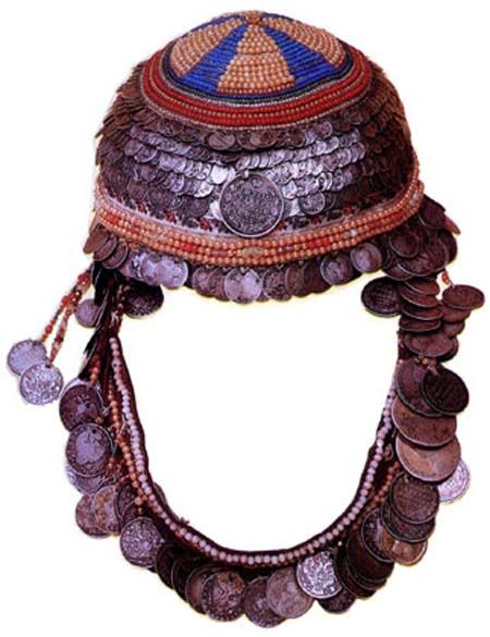 Тухъя - девичий головной убор, 19 век