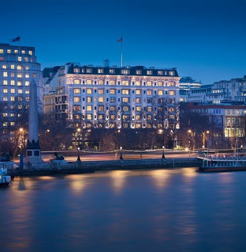 The superb Savoy Hotel in London , the city is popular in th Autumn / Fall for weekend breaks and vacations http://www.kooloola.com/uk.html