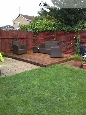 Image result for corner garden seating area