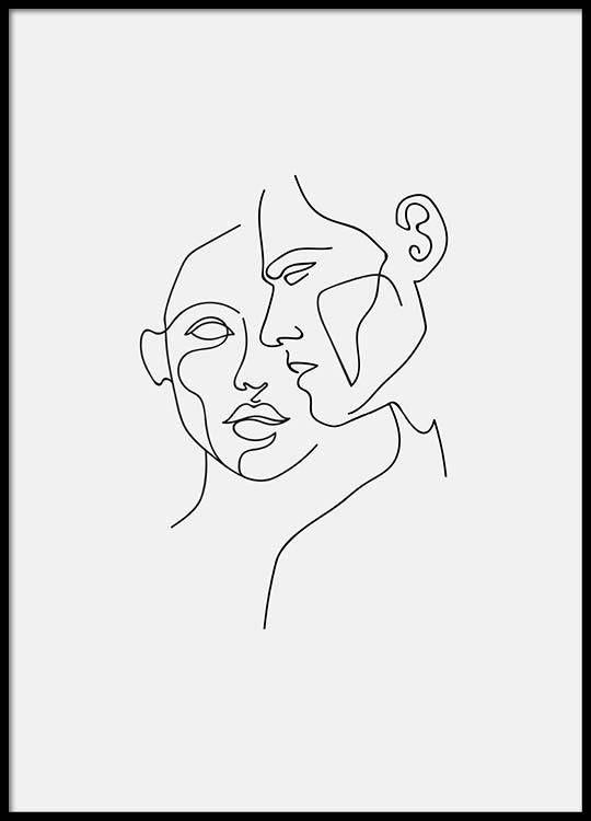 Close – 50x70Faces No2 – 50×70… – Maria Echternachname