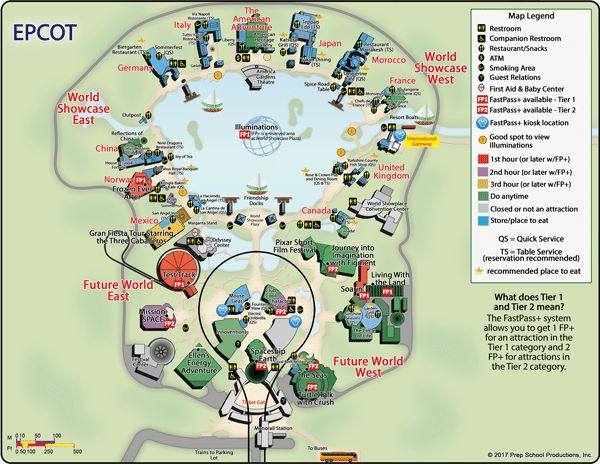 Breathtaking image within printable epcot map