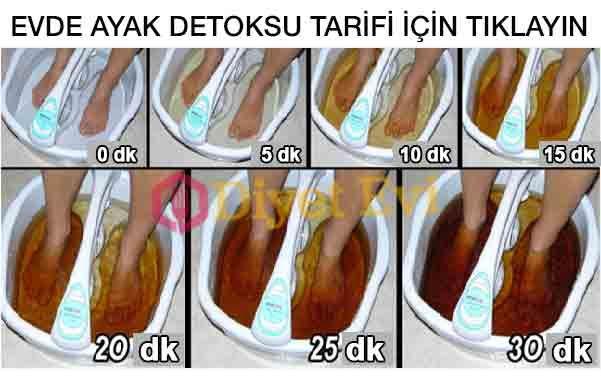 Ayak detoksu evde nasıl yapılır evde ayak detoksu detoks pedi ile detoks yapmak, maranki detoks pedi ayaklardan zehri atmak için ayak detoksu