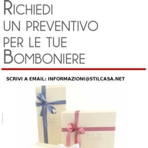 Linea bomboniere eme del produttore | EME : Stilcasa.Net