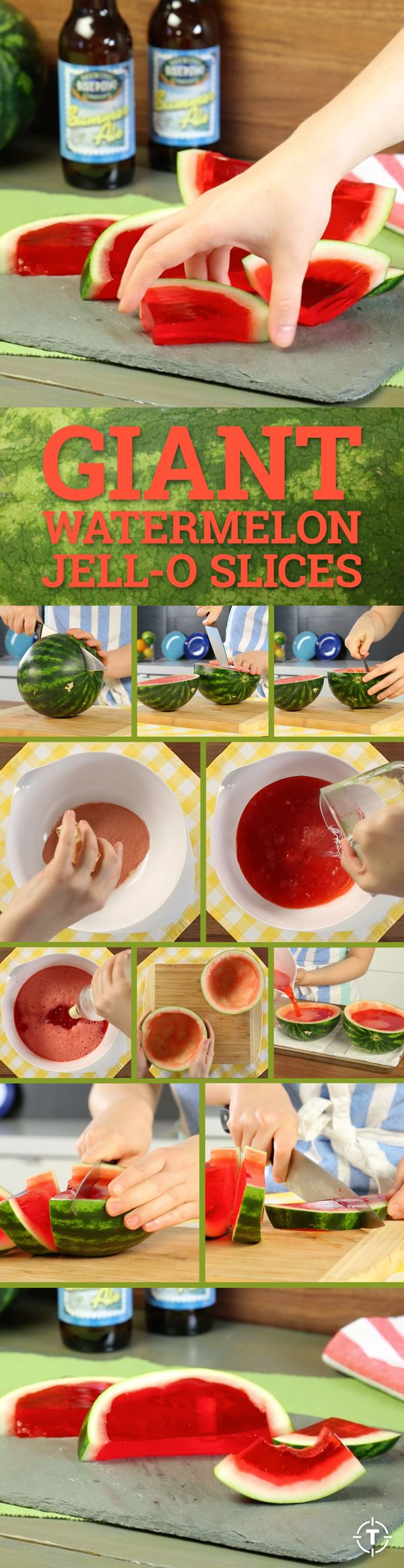 Buzzfeed's vodka-filled watermelon Jell-O slices prove that, sometimes, bigger is really better.